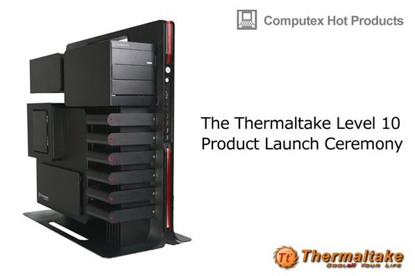 AMD, BMW Group DesignworksUSA and Thermaltake Present Level 10 Extreme Gaming Station