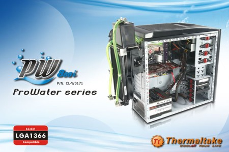 Thermaltake ProWater880i - Maximized Power Liquid Cooling