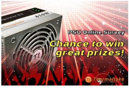Chance to win great prizes from Thermaltake!!
