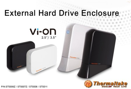 Thermaltake External Hard Drive Enclosure - Vi-ON Series