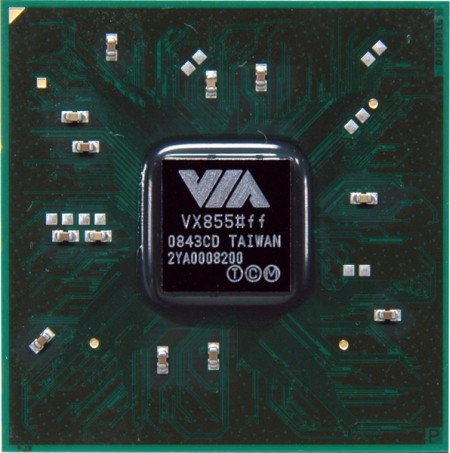 New VIA VX855 Media System Processor Brings Power-Efficiency to 1080p HD Playback