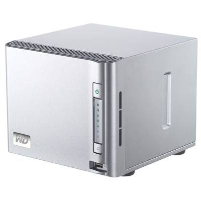 WD ShareSpace Network Storage Systems Now with Huge 8 TB Capacity