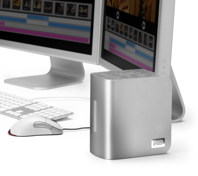 WD� Unveils World's First 4 TB External Hard Drive for Creative Professionals and Mac� Computer Enthusiasts