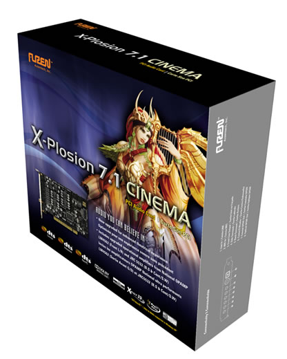 X-Plosion 7.1 Cinema in Stock in the Auzentech Online Store with a New Box