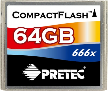 Pretec 666x Is Now World's Fastest CF Card