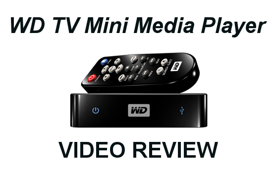 Western Digital WD TV Mini Media Player Video Review - Where's my HD?