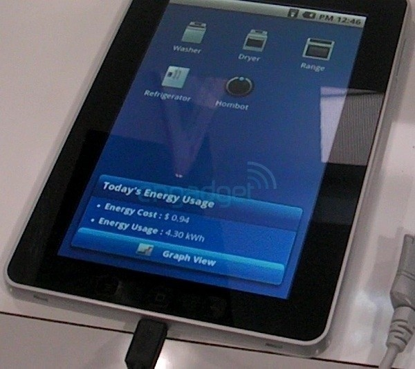 LG Optimus Tab spotted? There's no concrete info on it yet, but the tease