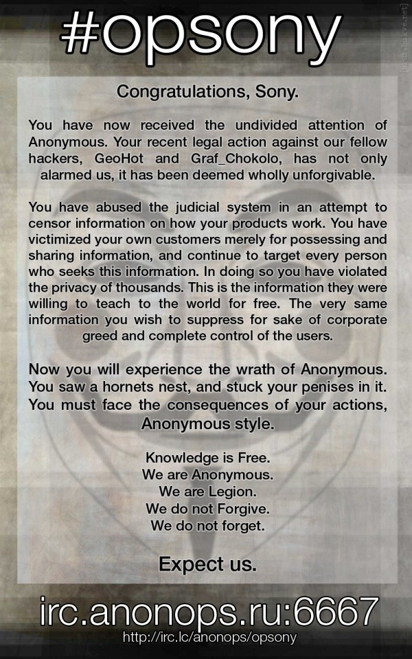 anonymous_attacks_sony_in_support_of_geohot