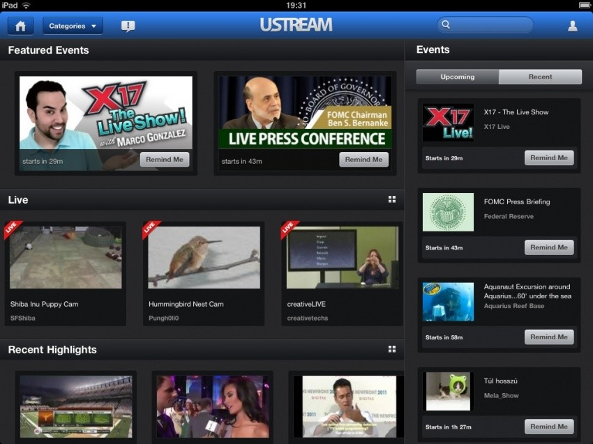 app_of_the_day_ustream_for_ipad_ios