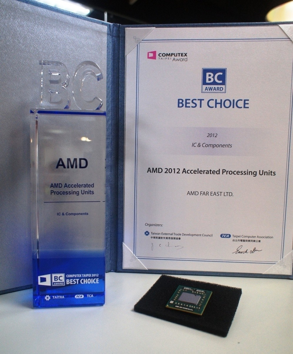 new_amd_a_series_apus_win_2012_best_choice_of_computex_taipei_award