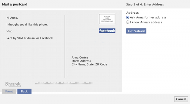 facebook_trying_mail_a_postcard_feature_mail_postcard_with_your_picture_on_it_to_a_friend