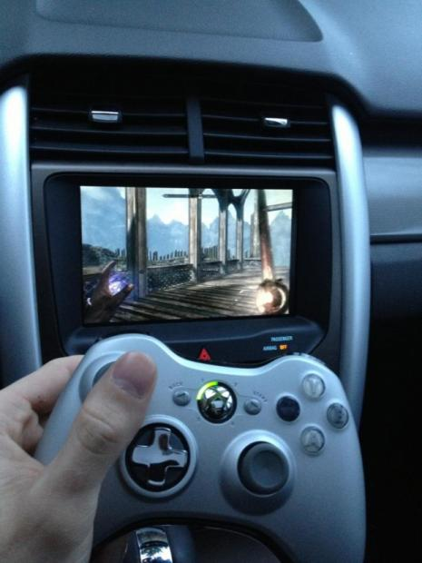 hurricane_sandy_survivor_plays_skyrim_in_ford_edge_due_to_power_outage