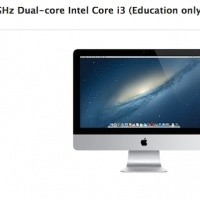 Apple's education-only 21.5-inch iMac receives faster internals, now starts at $1099
