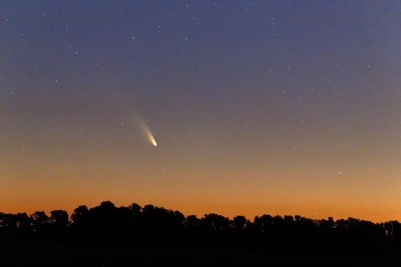 Comet Pan-STARRS (C/2011 L4)   Robert F Commagere - Sky