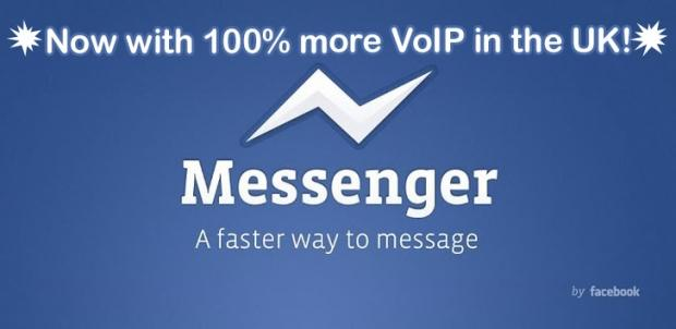 Facebook to launch VoIP Calling to its Messenger iOS app today for United Kingdom residents
