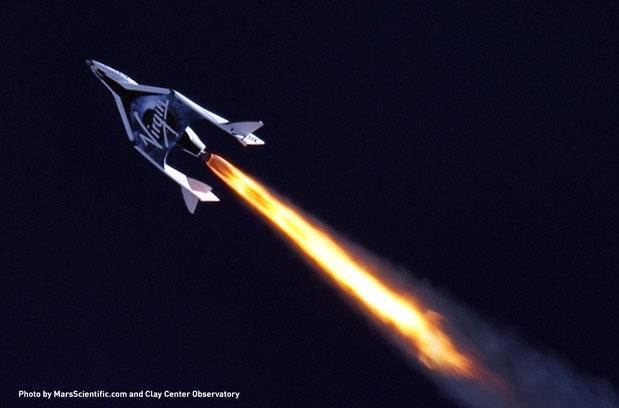 Virgin Galactic successfully completes first test flight of its commercial space plane