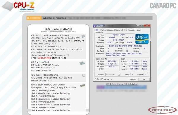 Haswell IMC could make memory overclocking fun again for