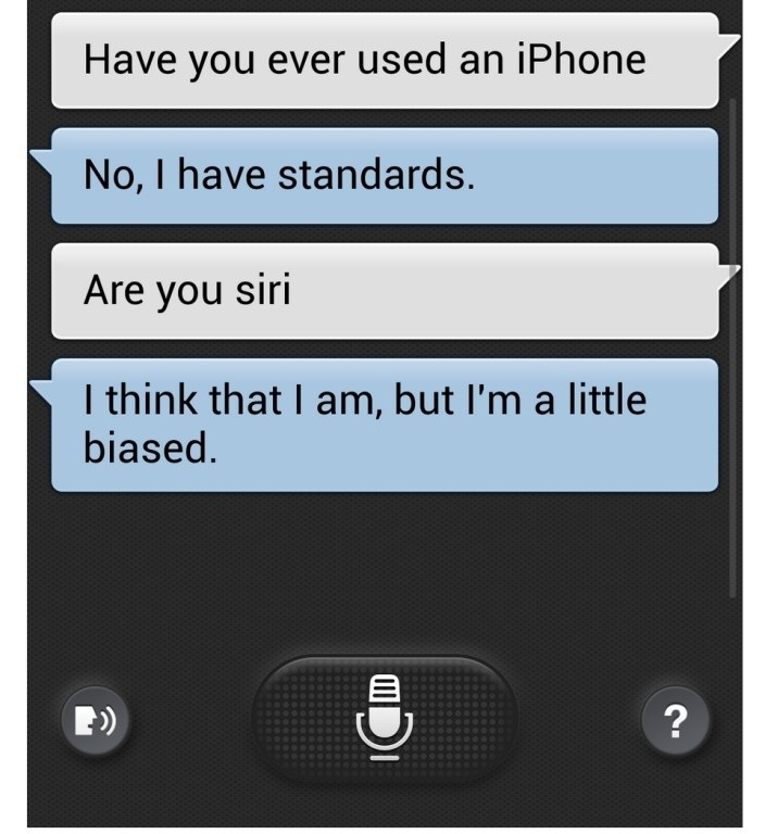 loltt_samsung_galaxy_s4_s_s_voice_touts_that_it_has_standards_and_thus_has_not_used_an_iphone