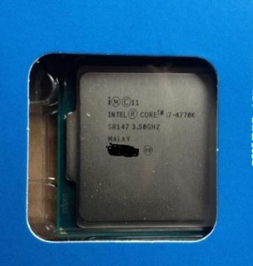 Intel Core i7 4770K reaches eBay