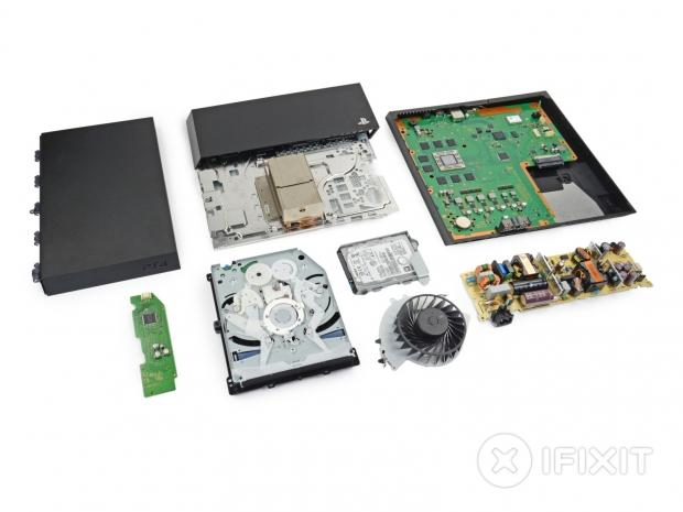 Sony's Playstation 4 gets torn apart by iFixit, is basically