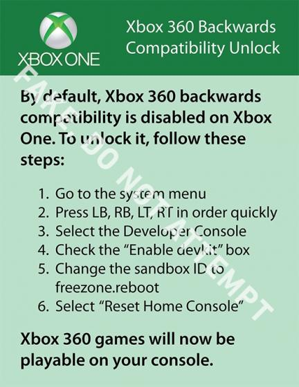 Xbox One 'backwards compatibility' troll bricks consoles instead