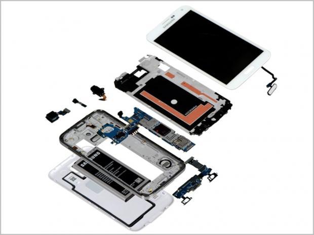 Samsung Galaxy S5 teardown estimates build cost