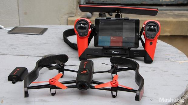 Parrot Bebop drone supports Oculus Rift VR headset and