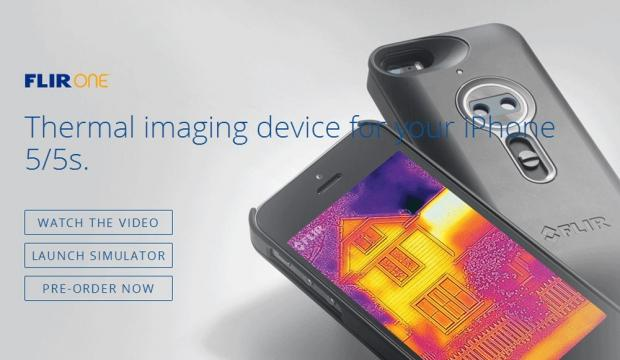 Flir One thermal camera accessory for iPhone unveiled