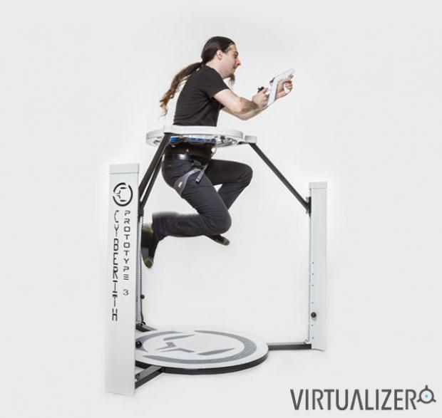 Cyberith Virtualizer hits Kickstarter, immersive VR gaming is close