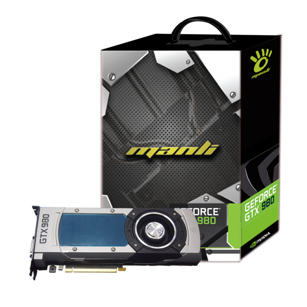Manli releases its new GeForce GTX 980 and GTX 970 cards