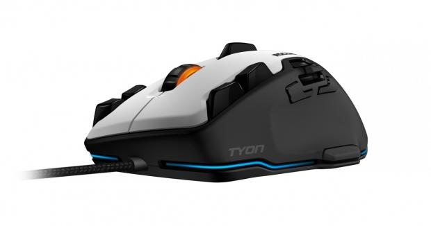 ROCCAT begins shipping its Tyon gaming mouse