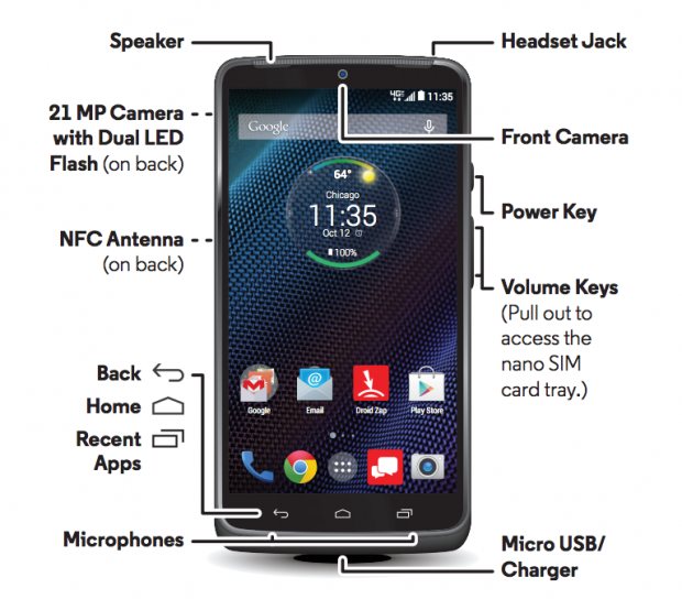 Droid Turbo rumored to feature 21MP camera, 'Ultra HD' display