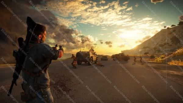 Just Cause 3 screenshots leaked from the Xbox One version