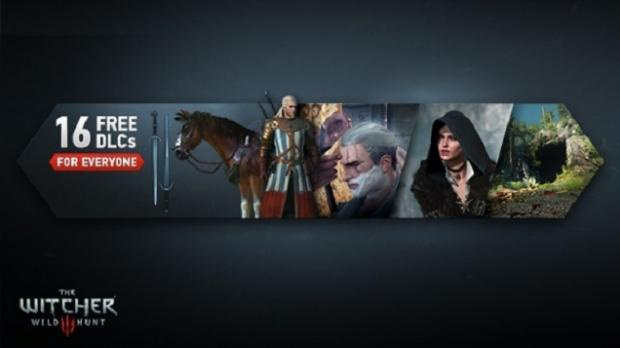 The Witcher 3 will have 16 different DLCs, all which are... free!
