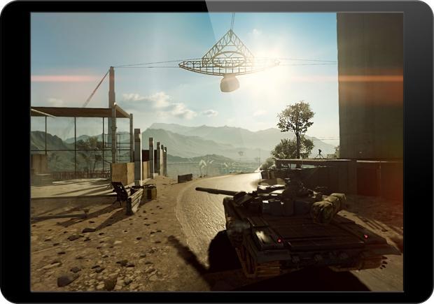 DICE has parts of Battlefield 4 running on Apple's iOS