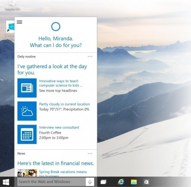 Latest Windows 10 Technical Preview still has a built-in