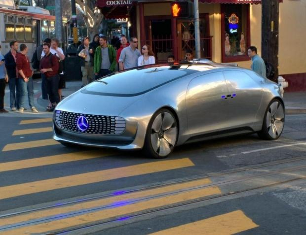 Mercedes Benz Of San Francisco >> Driverless Mercedes Benz F 015 Luxury Spotted On In San Francisco