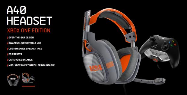 ASTRO unveils new Xbox One orange and dark grey A40 headset