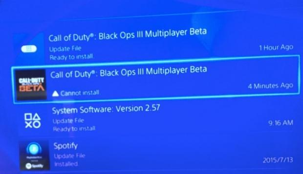 Can't install Black Ops 3 beta on PS4? Here's how to fix it