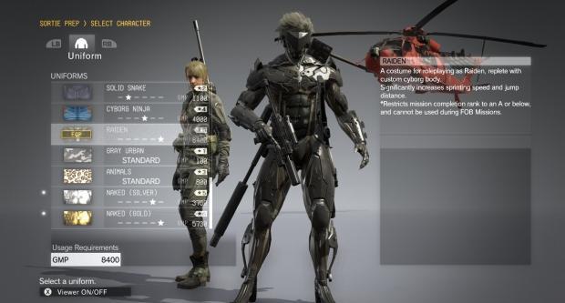Metal Gear Solid V mod unlocks all hidden and DLC items