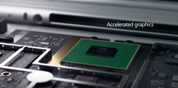Surface Book has dual-GPU setup with custom 1GB GDDR5