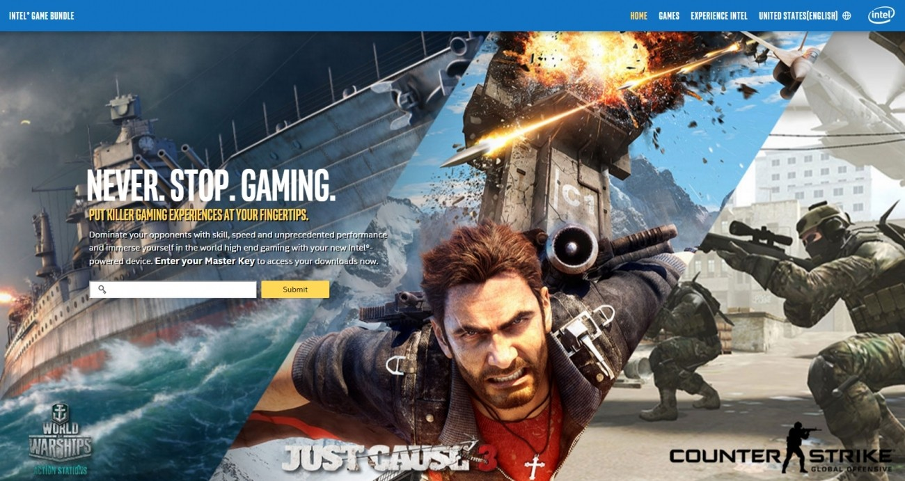 Intel bundles free games with select Core i7 CPU's
