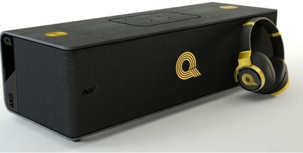 AKG and Quincy Jones teamed up to make this 6-speaker $1,500