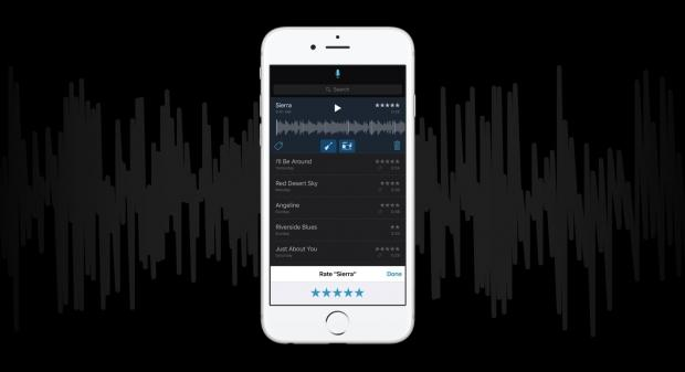 Apple's Music Memos app lets you record and edit basic song