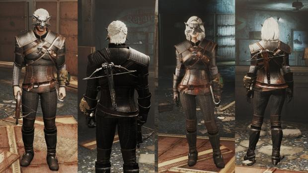 New Fallout 4 mod lets you play as Geralt of Rivia from The