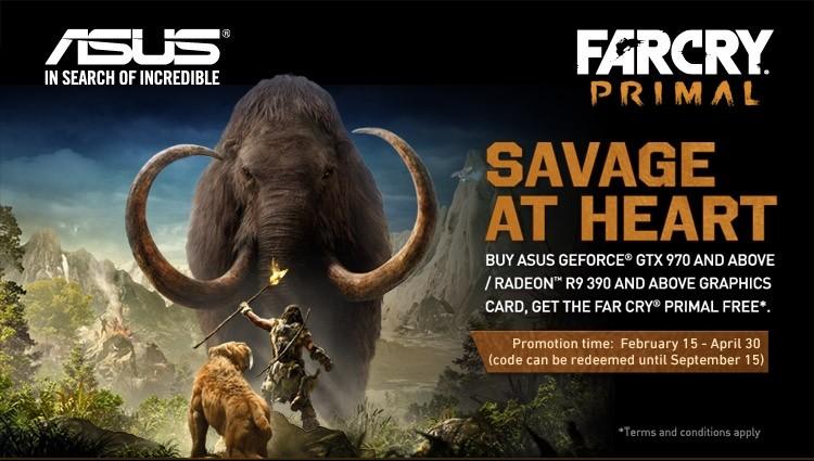 Asus Bundles Free Copies Of Far Cry Primal With Select Gpus