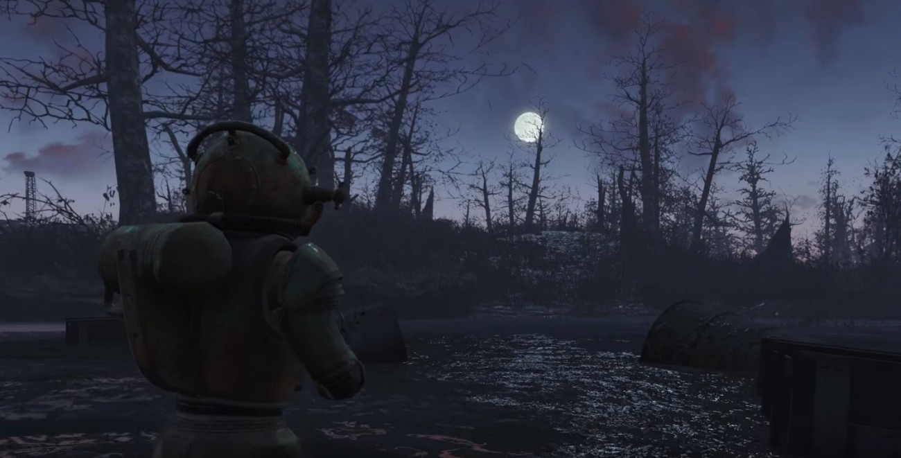 Fallout 4's Far Harbor DLC might have underwater exploration