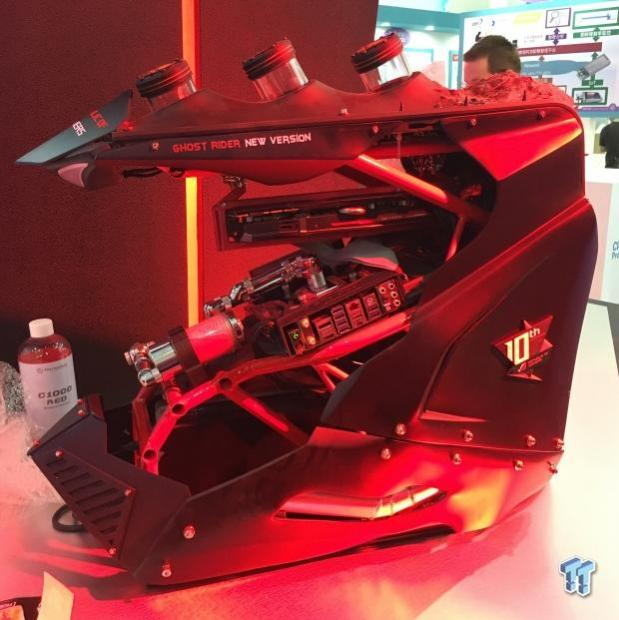 ASUS teases the Ghost Rider custom PC at Computex 2016