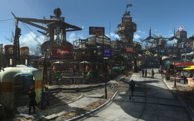 Blade Runner meets Fallout 4 in this amazing settlement creation