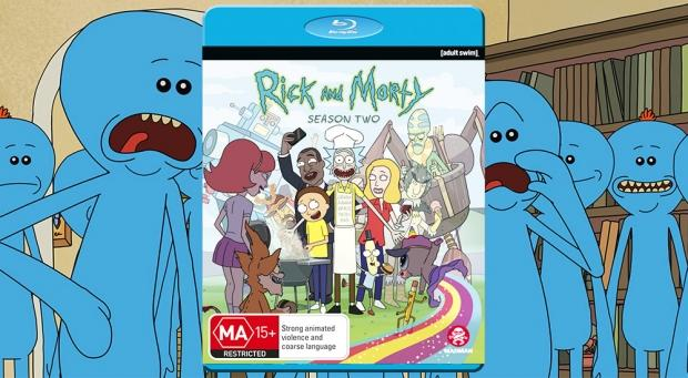 Take a trip with 'Rick and Morty' in our Season 2 Blu-ray